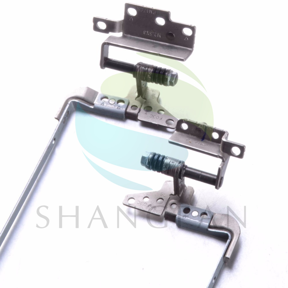 1 Pair Left & Right Laptops Replacements LCD Hinges Fit For HP Pavilion G72 CQ72 Notebook Computer LCD Screen Hinges F3124 P66