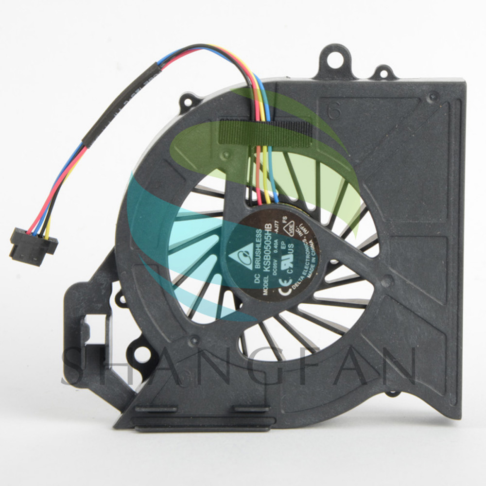 Notebook Computer Replacements Cpu Cooling Fans Fit For HP DV6-6000 DV6-6050 DV6-6090 DV6-6100 Laptops Cooler Fan F0617 P72