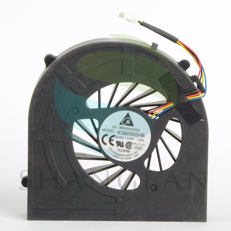 Notebook Computer Replacements CPU Cooling Fans Fit For HP PROBOOK 4520s 4525s 4720S Laptops CPU Cooler Fans KSB050HB F0620 P72