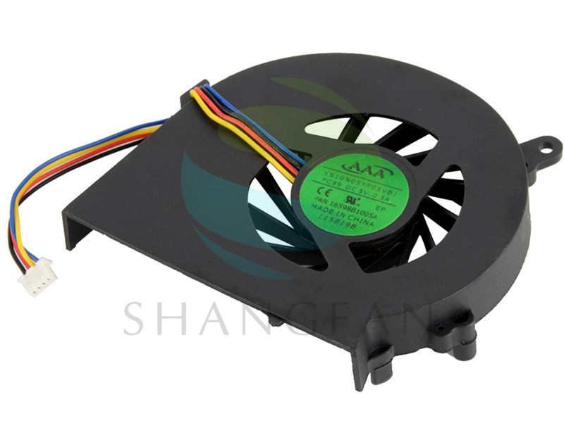 Notebook Computer Replacements Cpu Cooling Fans Fit For HP COMPAQ CQ58 G58 650 655 Laptops Component Cpu Cooler Fans F2036 P72