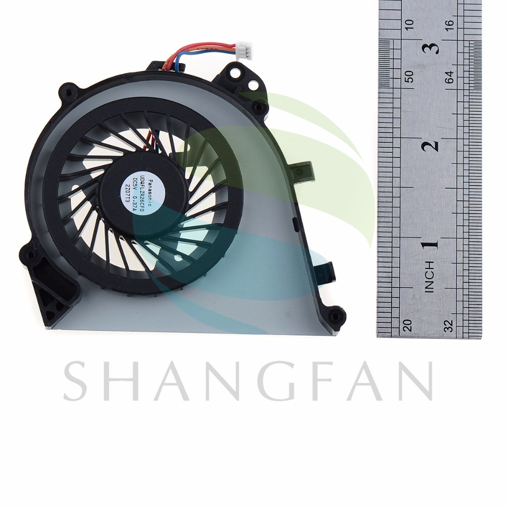3 Pin Laptops Replacement Accessories Cpu Cooling Fans Fit For SONY SVE14A Notebook Computer Cooler Fans S0A92 P89