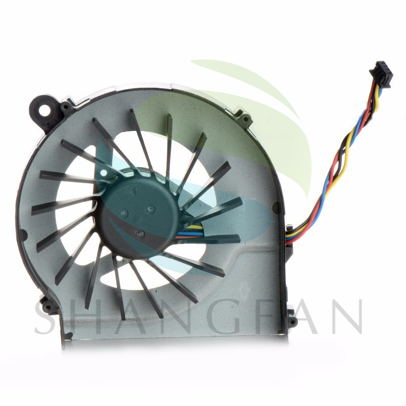 4 Wires Laptops Replacements CPU Cooling Fan Computer Components Fans Cooler Fit For HP CQ42/G4/G6 Series Laptops F1324 P72
