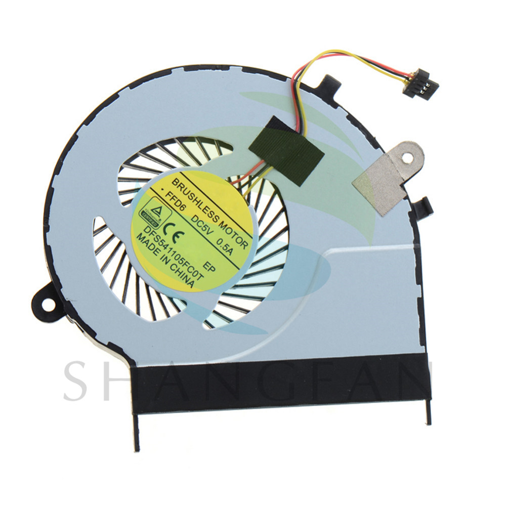 Notebook Computer Cpu Cooling Fans Replacements Fit For Toshiba Satellite L50-B L50D-B L50T-B L50DT-B Laptops Cooler VCY75 P72