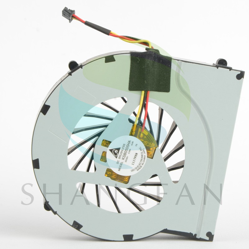 Notebook Computer Cpu Cooling Fans For HP Pavilion DV7-4000 Series Laptops KSB0505HA Processor Cooler Fan Replacements F0621 P72