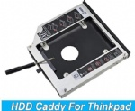 Aluminum 2nd HDD Caddy 12.7mm 2.5