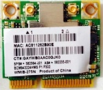 BroadCom BCM943224HMS BCM43224 300Mbps 2.4/5G Dual band Half Mini PCIe Wireless card